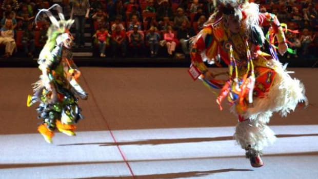 Dancers perform at the annual Black Hills Pow Wow.