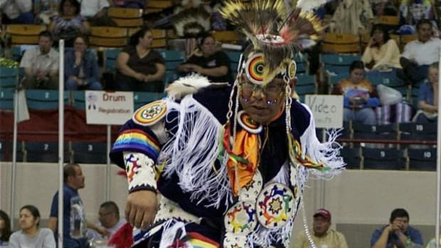 Phillip Whiteman Jr. and Apsaalooke storyteller Christian Takes Gun Parrish, also known as Supaman, will be performing at the top of the hour on March 21, 22 and 23 in the Denver Coliseum's lower-foyer Denver Press Room