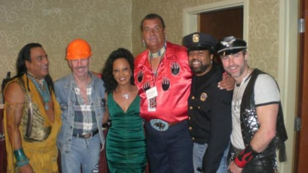 Tree Cody with the Village People