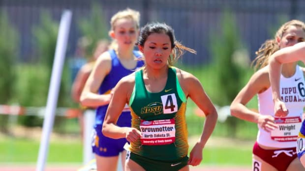 Standing Rock Sioux tribal member Brittany Brownotter currently stars on the North Dakota State University cross-country team.