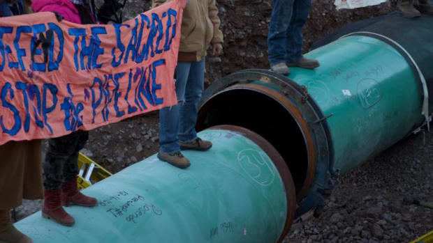 West Texas water protectors against Trans-Pecos Pipeline