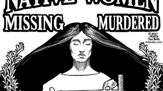 Native Women Missing Murdered Never Forget