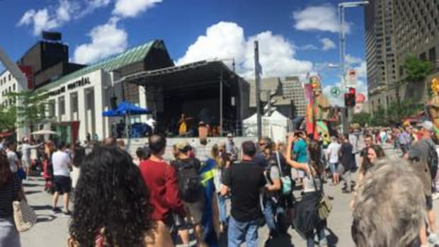 The Montreal First Peoples Festival at the Place des Festivals on August 5, 2017.
