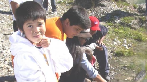 Squamish First Nation students and their non-Native counterparts are learning about waterways in British Columbia.