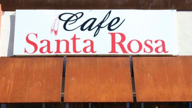 Cafe Santa Rosa, an O'odam-owned restaurant in Tucson, Arizona.