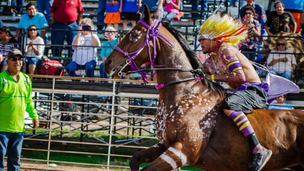 Anticipation was high as the inaugural Ioway Invitational Indian Relay Race kicked off in the small rural town of Perkins, Oklahoma last month.