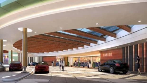 An architectural rendering of the proposed West Valley Resort