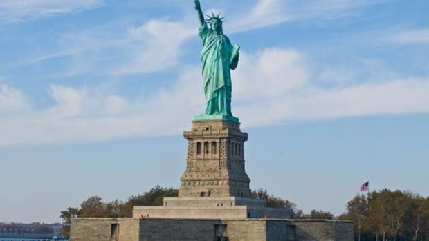 The Statue of Liberty on Ellis Island in New York City was dedicated on October 28, 1886.