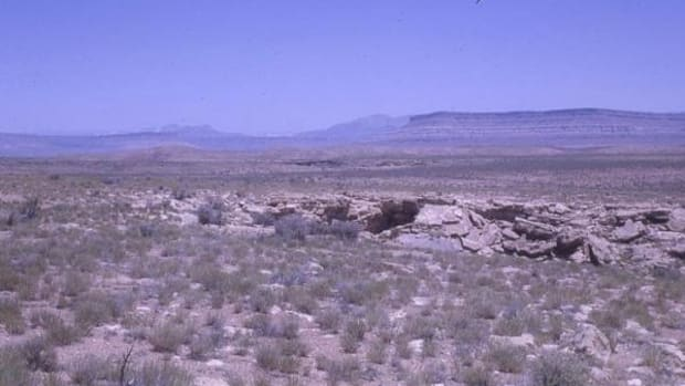 The Antelope Cave provided samples from several Southwestern tribes.