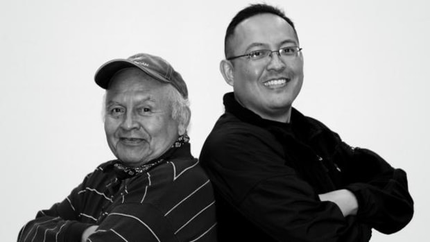 """Ernest Tsosie Jr. and John L. Tsosie started Walking the Healing Path, Inc. in 2003 to """"create solutions to end domestic violence."""""""