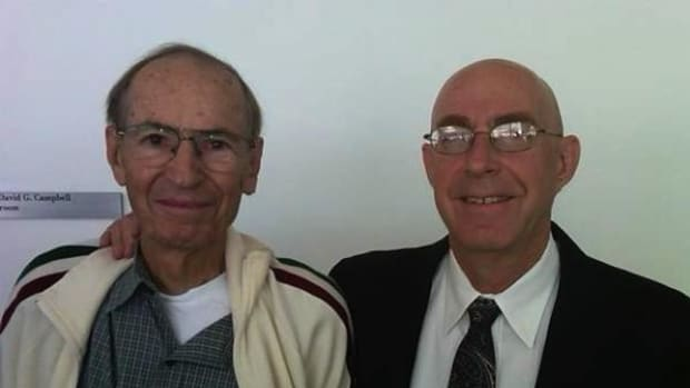 Dr. Bob Witzeman is pictured here with Dr. Robin Silver.