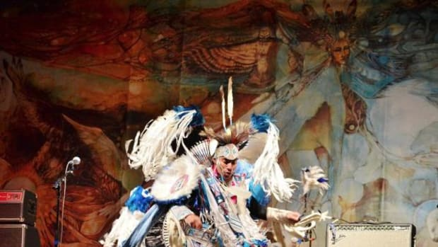 A dancer performs at a previous Black Hills Unity Concert. This year's event will take place August 28-30.