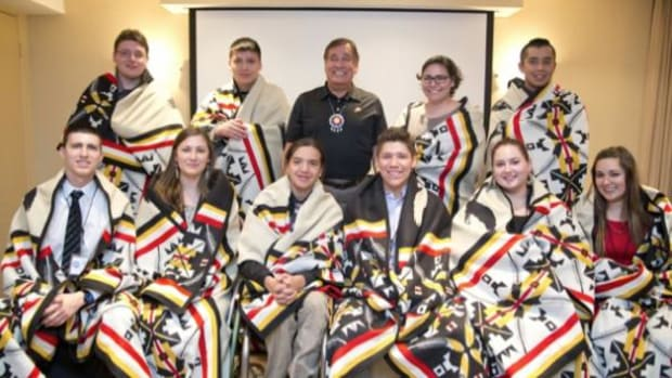 Grantees of Dreamstarter, a new program to help bring Native youth's dreams to life, are already winning top national honors and awards.