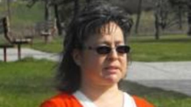 Phyllis Webstad, Stswecem'c Xgat'tem First Nation, British Columbia, today wears the color orange to pay tribute to residential school survivors—and acknowledge their pain, trauma and loss—all across Canada and the U.S.