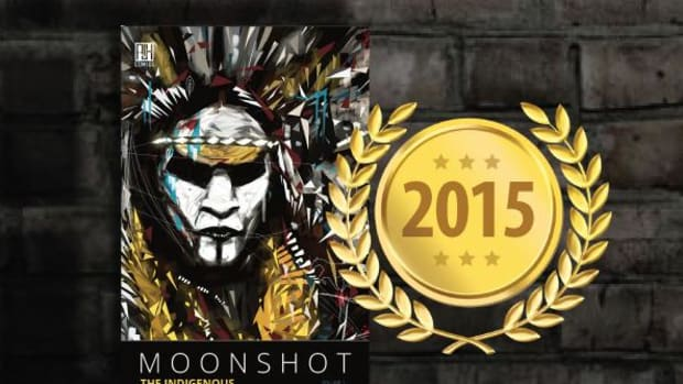 School Library Journal has just named Moonshot: The Indigenous Comics Collection to its prestigious list, Best Books of 2015.