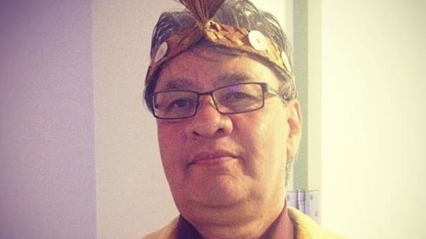 Chairman of the U.N. Permanent Forum on Indigenous Issues, Grand Chief Edward John of Canada