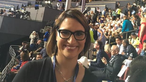 Peggy Flanagan, White Earth citizen and Minnesota State Representative became first Native Woman to address DNC from the podium.