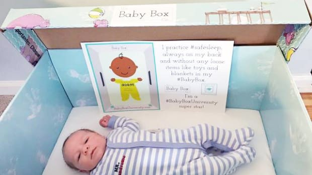 Sault Tribe Health Centers have started giving out baby boxes to pregnant women and families with newborns as a way of reducing infant mortality. The boxes, created by The Baby Box Company, promote a safe sleeping environment for newborns. Many mothers share their baby photos on the company's Facebook page, like this one—his name is Adam.