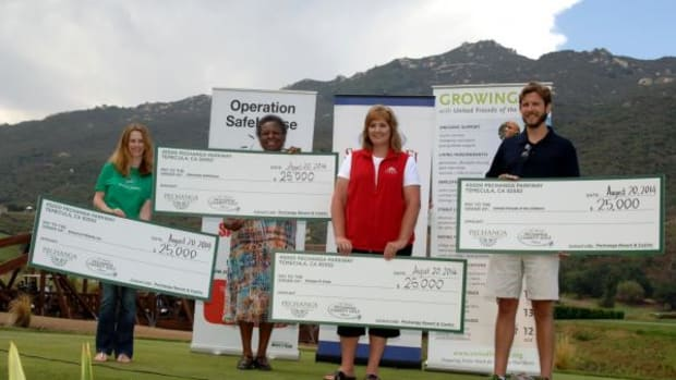 The 16th annual Pechanga Charity Golf Classic raised more than $100,00 for the Semper Fi Fund, School on Wheels, Operation SafeHouse, and United Friends of the Children.