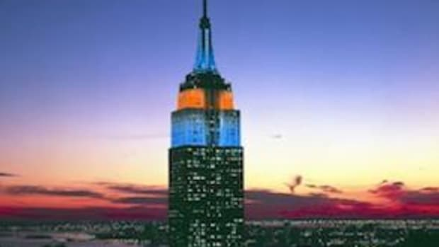 On February 4th the Empire State Building will light up blue and orange as advocates around the world share information and dispel myths about cancer. (American Cancer Society)