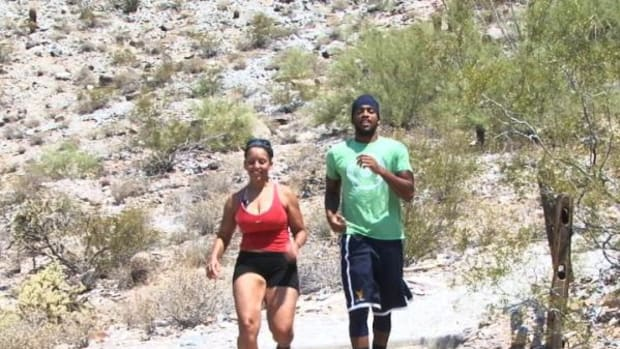 Brantwon Bowser and his girlfriend, Chelsea Arias hiked at Piestewa Peak when it was more than 100 degrees. Phoenix officials don't recommend hiking in the heat.