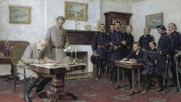 Ely Parker wrote the final draft of the Confederate surrender terms.