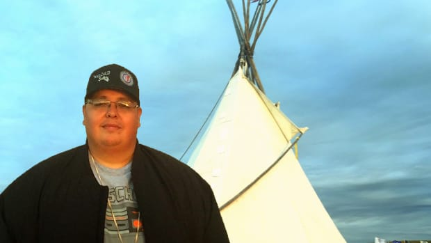 Thing About Skins: Voices from Standing Rock part 3 - Comedian Tito Ybarra