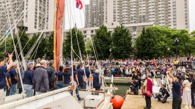 The Polynesian voyaging canoe known as the Hokulea started its journey from Hawaii in 2013, hoping to travel 60,000 miles and visit 100 ports in 27 nations.