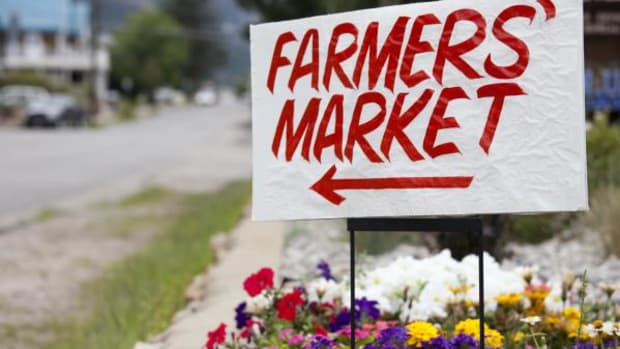 It's the time of year for farmer's markets. Get out and get your fresh produce to support your local growers.