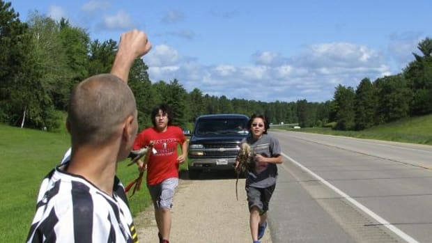 200-mile relay-style Anishinaabe Run for Sobriety and Health
