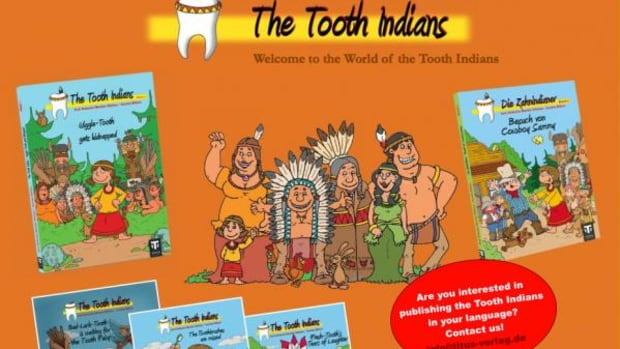The main character of the books is a little girl named Wiggle Tooth of the Tooth Tribe. A stereotypical supporting cast includes a gray-haired shaman, a faithful animal sidekick and a variety of comedic others.