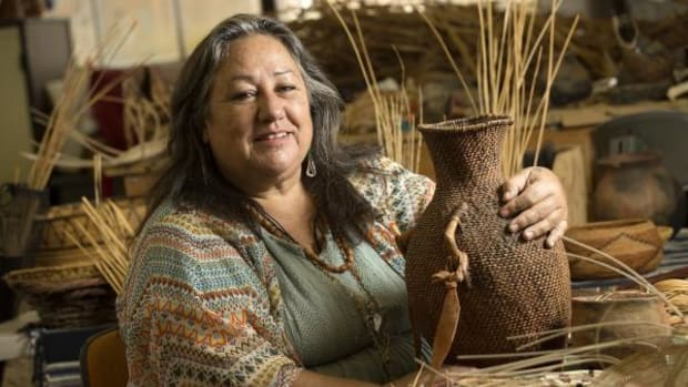 Lorene Sisquoc is serving as the first elder/scholar-in-residence at California State Polytechnic University in Pomona, California.