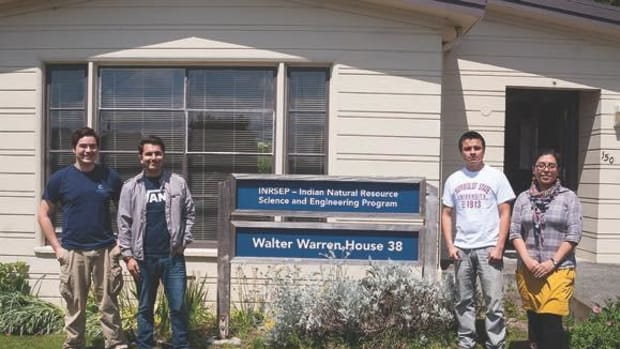 The Indian Natural Resources, Science and Engineering Program at Humboldt State University focuses on recruiting American Indian students.