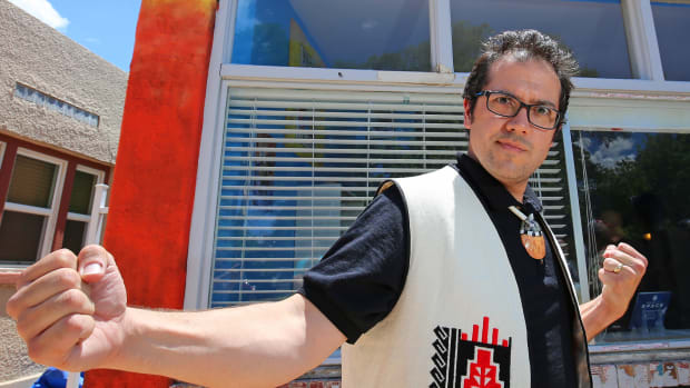 """A close friend of his once called Dr. Lee Francis—the creator of the first Native Comic Con and owner/operator of Native Realities Press and Red Planet Books and Comics, """"the Stan Lee of Native comics."""""""