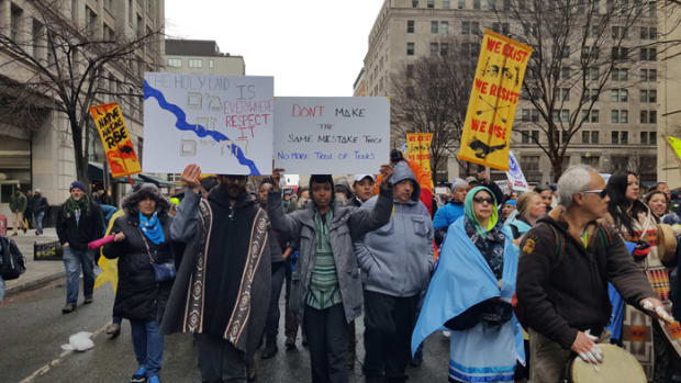 Native Nations Rise March - March 10, 2017 D.C