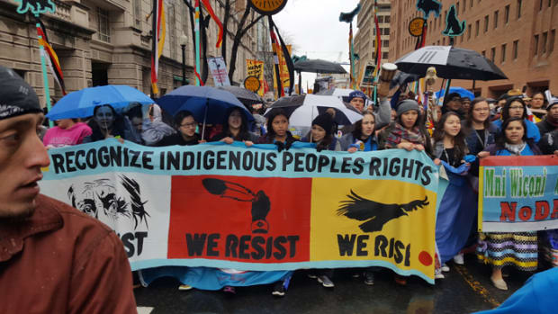 Native Nations Rise March - March 10, 2017 D.C.