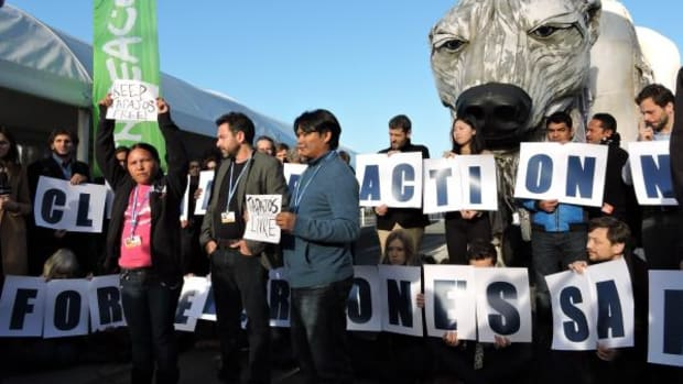 Activists and representatives of Indigenous Peoples called for climate change but most importantly for indigenous inclusion in the climate text discussions on Wednesday at COP21.
