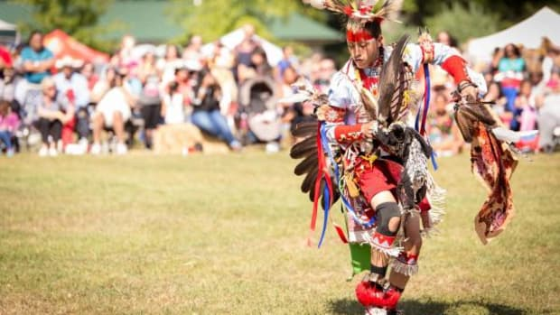 The Redhawk Native American Arts Council recently held their 24th annual FDR Pow Wow and Native American Festival at FDR State Park in Yorktown Heights, New York. / Dancer: Jaden Parker, Tonawanda Seneca.