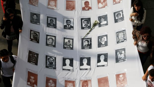 murdered social leaders following peace accords