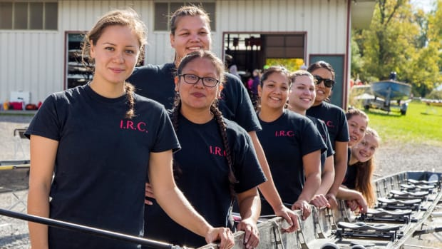 The all women's Indigenous Rowing Club has faced criticism from within their own community for participating in an event on the environmentally embattled EPA Superfund site, Onondaga Lake.