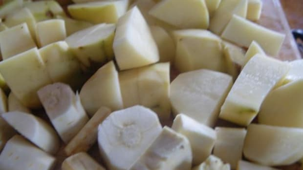 Check out this recipe for a mashed root medley combining potatoes and parsnips.