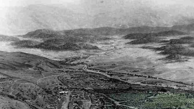 Vineyards around Los Angeles circa 1850. American Indians were forced to work in California's fledgling wine industry in the 1800s.