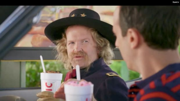 Sonic Drive-In pulled its 'General Custard' commercial after Native Americans informed the company of the late Army officer's brutality toward indigenous peoples.