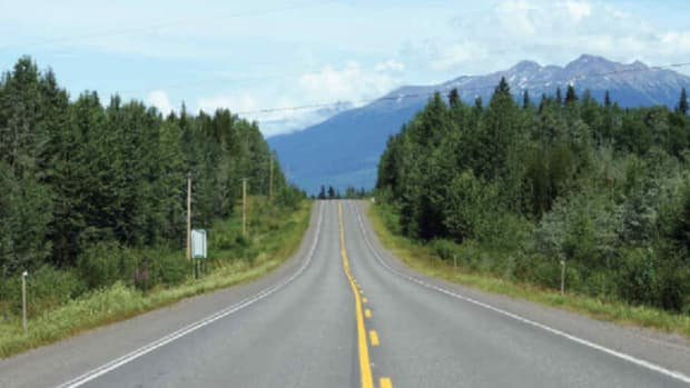 The Highway of Tears, which activists say has been the scene of hundreds of murders and abductions.(© 2012 Samer Muscati/Human Rights Watch)