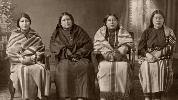 Osage Sisters: Rita, Anna, Mollie, Minnie. Only Mollie would survive.