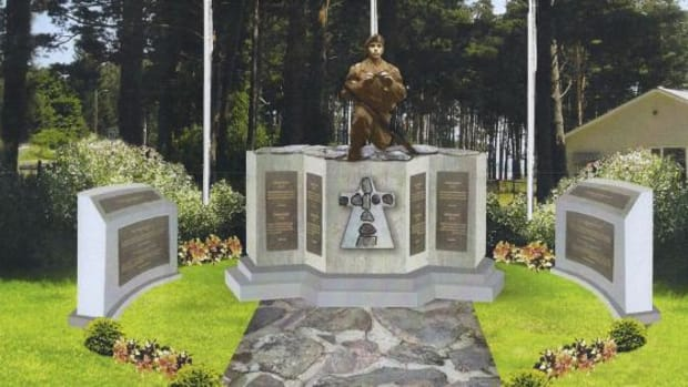 In order to preserve and honor the memory and sacrifices of Beausoleil First Nation veterans, a fundraising golf tournament was launched in 2008 to help erect a memorial. Beausoleil First Nation Council Member and former Canadian Forces veteran Bill Jamieson, said the projected cost of the entire project is about $125,000.