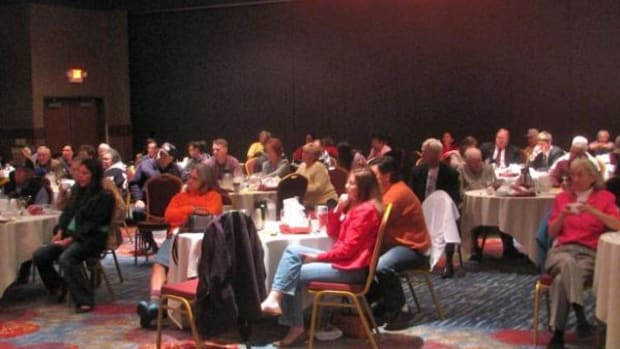 The 2010 Red Lake Candidate Fair drew more than 100 attendees.