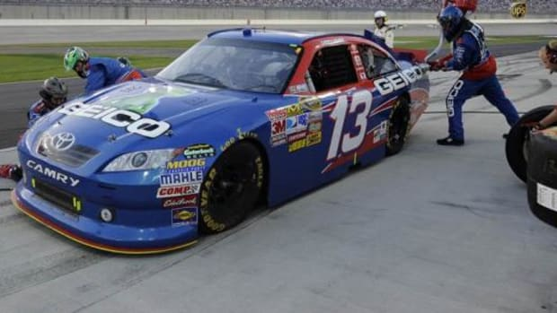 Osceola thinks this #13 will be very lucky for him and all Indian NASCAR fans.