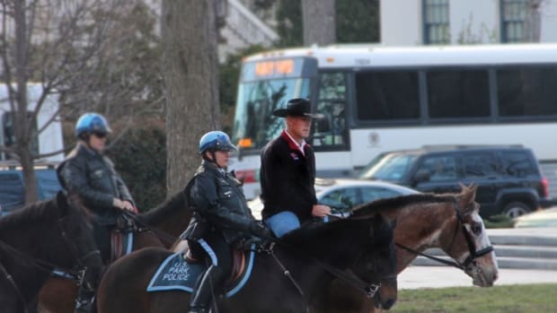 Department of the Interior Secretary Ryan ZInke Arriving on First Day