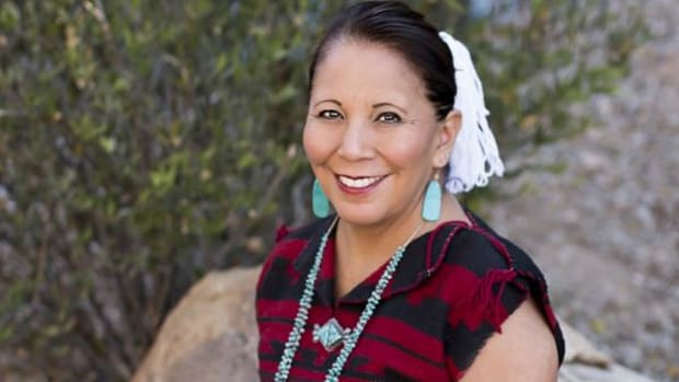 Karen Francis-Begay, assistant vice president for tribal relations at the University of Arizona, has spent most of her life in and around higher education.